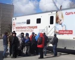 Сотрудники ПЗСП приняли участие в национальном Дне донора