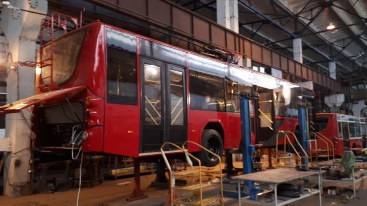 Для Ярославля в Вологде собирают новые троллейбусы: когда мы на них покатаемся