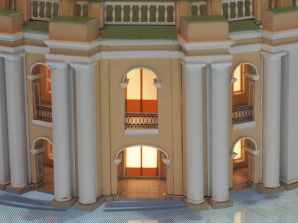 Макет Большого Гостиного Двора (фрагмент)