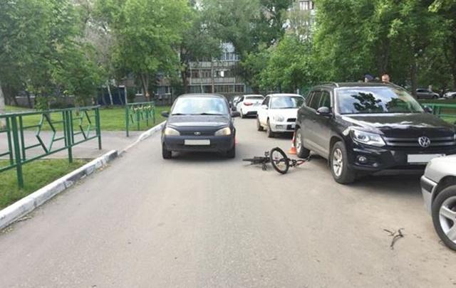 В Самаре водитель «Калины» сбил восьмилетнюю велосипедистку