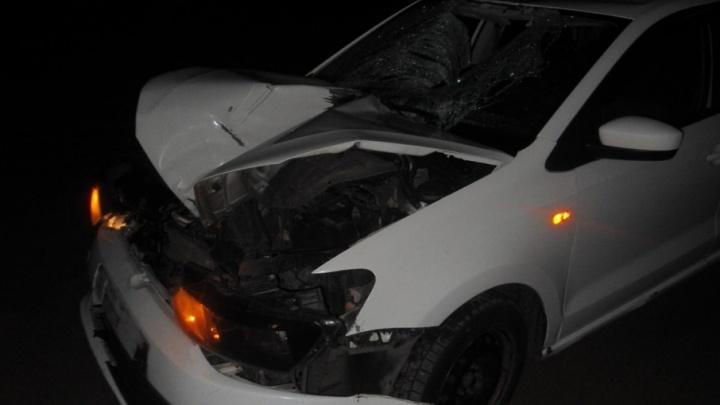 Водитель иномарки задавил мужчину, который выскочил на дорогу