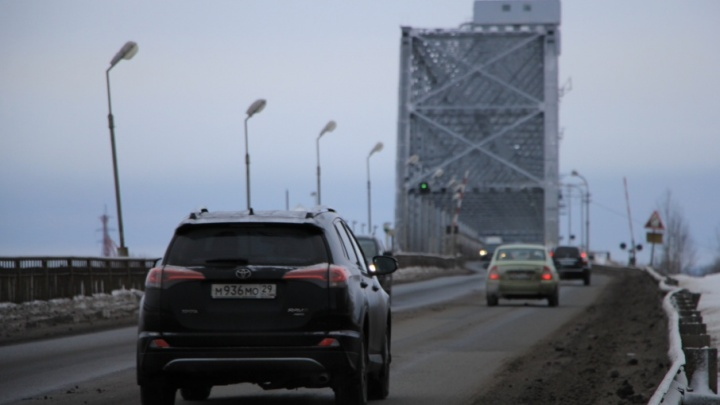 Сроки закрытия Северодвинского моста перенесли из-за РЖД