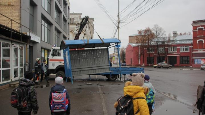 В Ярославле поставят остановку под архитектурный стиль площади