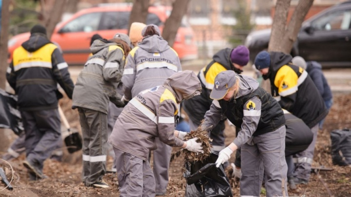 Большая уборка: работники КНПЗ провели массовый субботник