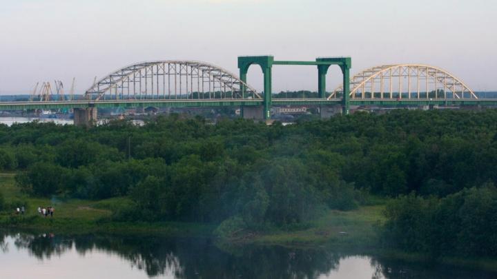 В Архангельске сегодня ночью разведут Краснофлотский автодорожный мост