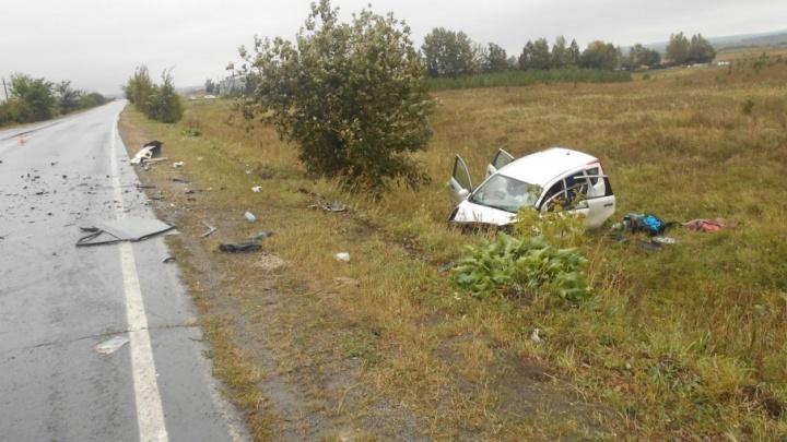 Лобовые трагедии на трассах Челябинской области