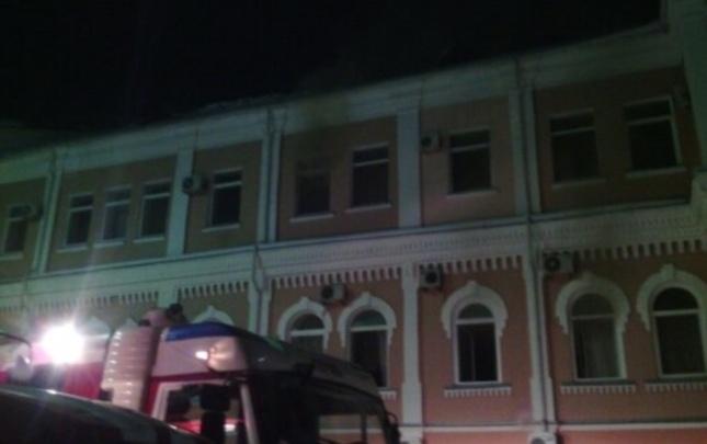 В Перми горело здание «Мотовилихинских заводов»
