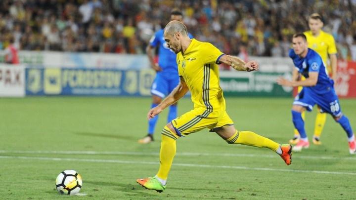 «Ростов» обыграл «Динамо» и вышел на третье место в Премьер-лиге