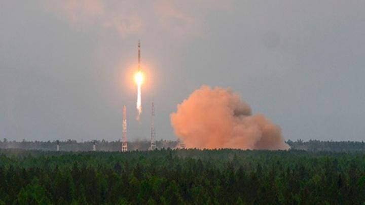 Ракету «Союз-2» запустили с космодрома Плесецк