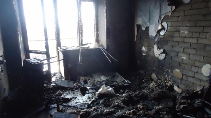 В пожаре под Ярославлем погиб спящий мужчина