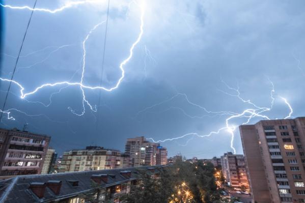 Непогода в Тюмени продержится, по прогнозам синоптиков, около пяти дней