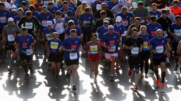 Пермяк Андрей Смирнов пришел третьим на московском марафоне