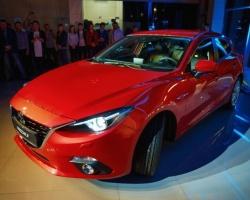 Новая Mazda 3 представлена в Перми