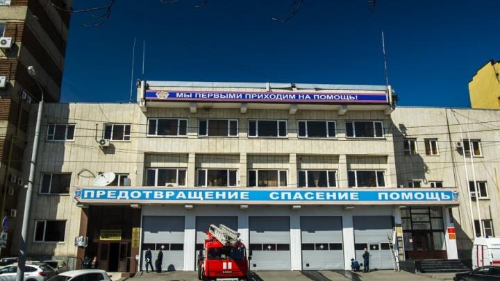 В Ростовской области произошел крупный пожар в цехе