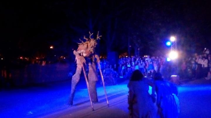В парке Гагарина провели «Обряд»: самарцы увидели новый спектакль «Пластилинового дождя»