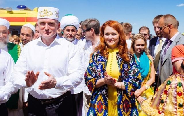 Рекордный чак-чак от Конгресса татар