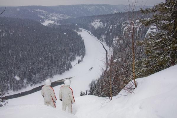 Съемки киноленты проходили и в Пермском крае - недалеко от тех мест, куда приземлился «Восход-2»