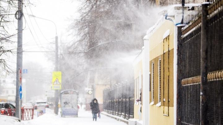 На Ярославль надвигаются резкое похолодание и метели