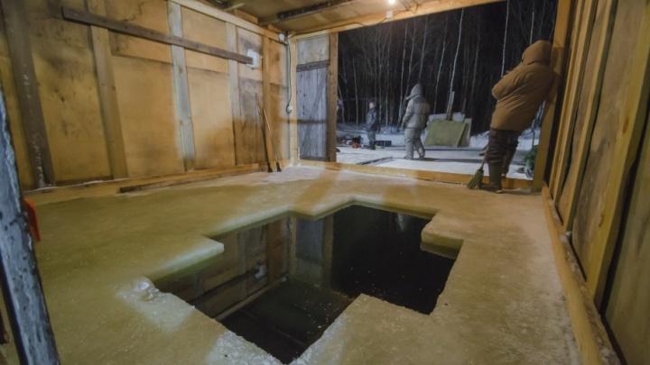 К Крещению в Поморье организуют 28 мест для обрядовых купаний