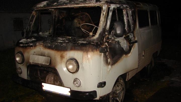 За сутки в Поморье подожгли два автомобиля