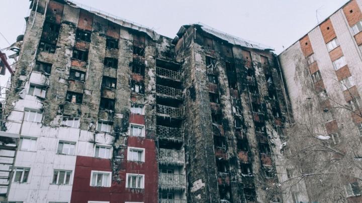 Жильцы сгоревшей девятиэтажки на Олимпийской вернутся в свои квартиры только в следующем году