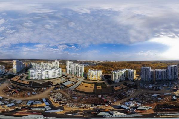 В  «Парковом-2» остались недостроенными два дома