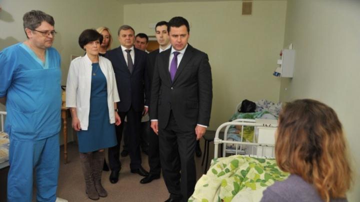 В больницу к пострадавшим в ДТП детям приехал губернатор Ярославской области