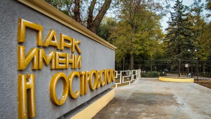 Житель Ростова начал сбор подписей против вырубки деревьев в парке Островского