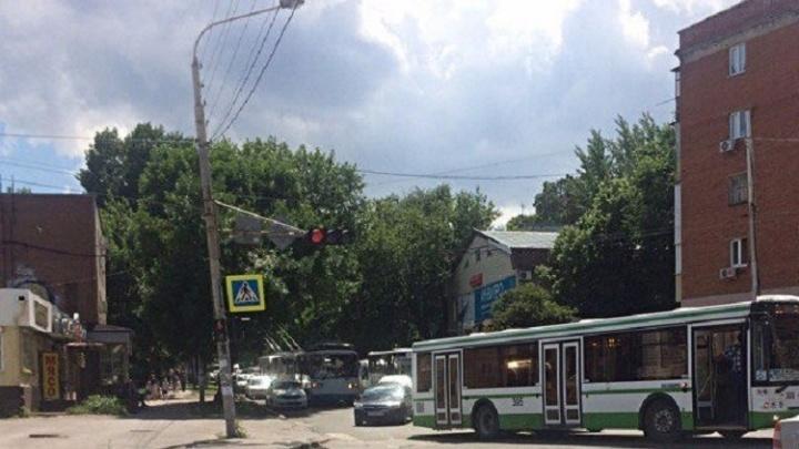 Две аварии с участием автобусов произошли в Ростове
