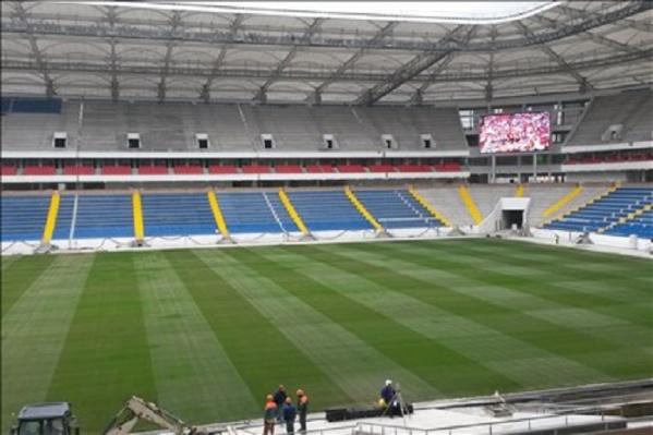 Завершение строительства стадиона намечено на ноябрь