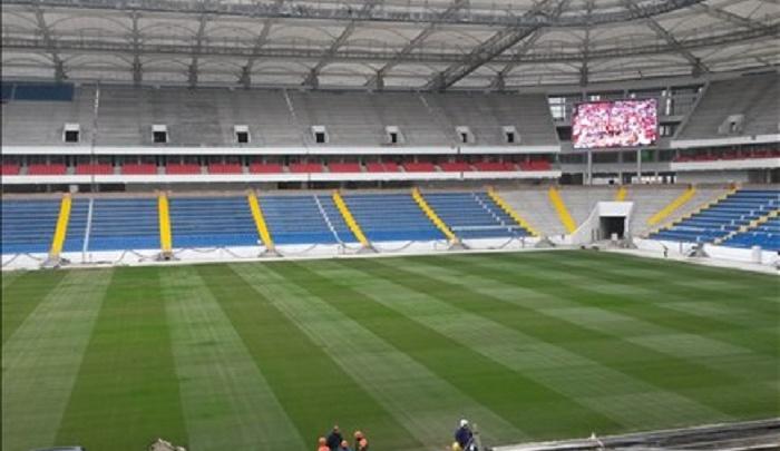 На стадионе «Ростов-Арена» установили большой экран
