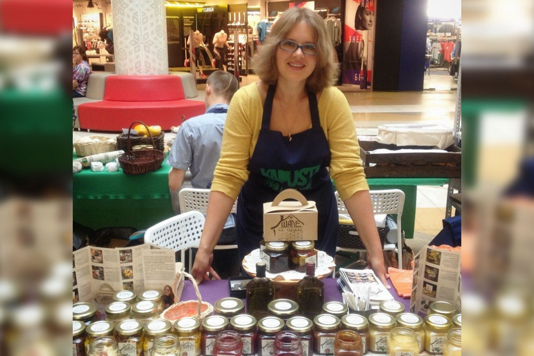 Ирина Барышникова начала с бизнес с покупки 200 баночек для варенья