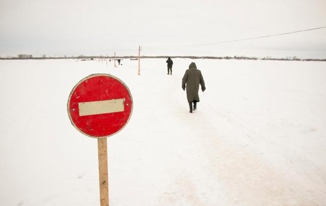 Внимание! В Поморье закрываются ледовые переправы