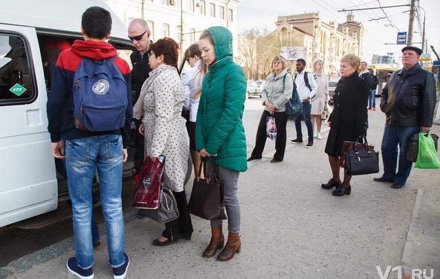 В Волгограде пассажиры отмененных маршруток проигнорировали такси