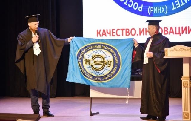 Выпускникам Института магистратуры РГЭУ (РИНХ) вручили дипломы