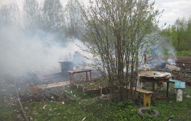 Хозяева лишились летнего дома в Ярославской области