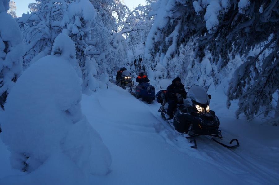 Спасателям не раз приходилось вытаскивать туристов, попавших в сложные условия на перевале Дятлова.