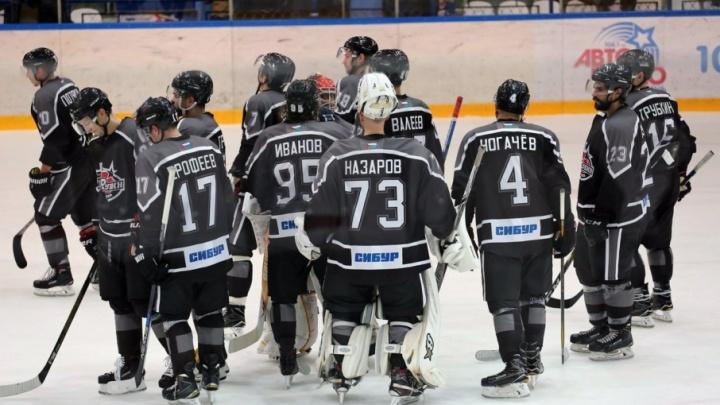 Тюменский «Рубин» уступил «Соколу» из Красноярска на чемпионате Высшей хоккейной лиги
