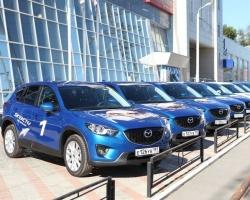 Mazda продемонстрировала новую технологию Skyactiv на улицах Перми
