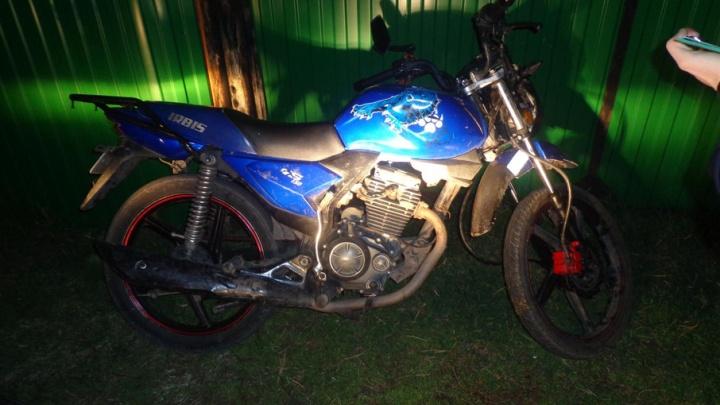 Ногу затянуло в колесо: в Голышмановском районе в ДТП пострадала 16-летняя пассажирка мотоцикла