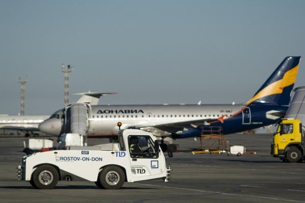 Как говорят посетители, сейчас никто из воздушной гавани не может вылететь