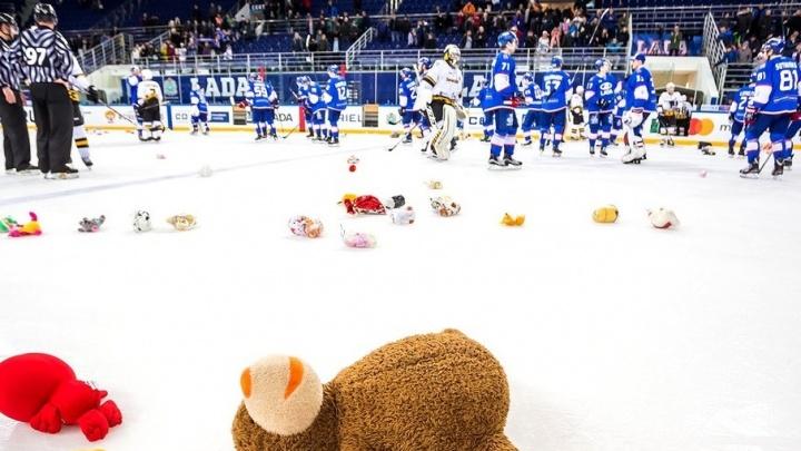 Жителям Тольятти предлагают выбросить плюшевые игрушки на лед