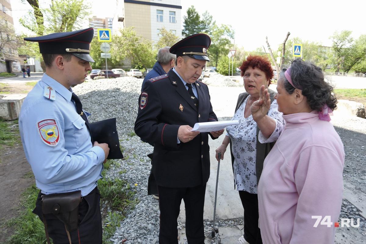 Полиция проверяет разрешительные документы на стройку