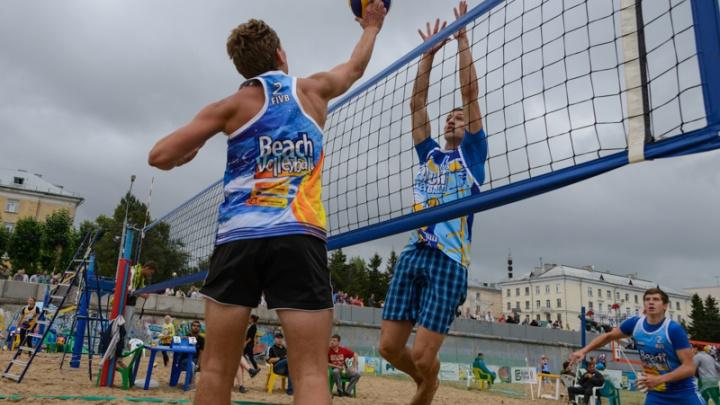 Семьи Архангельска приглашают поучаствовать в фестивале пляжного волейбола