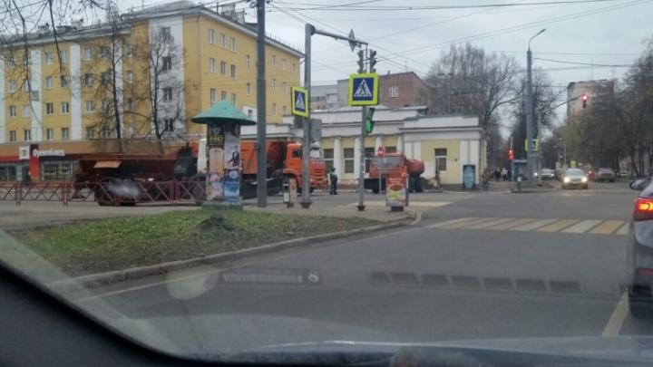 В Ярославле в честь праздника перекрыли улицу Свободы