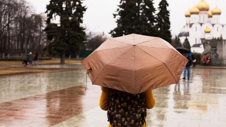 На Ярославль идет сильный ливень: затопит ли город по колено