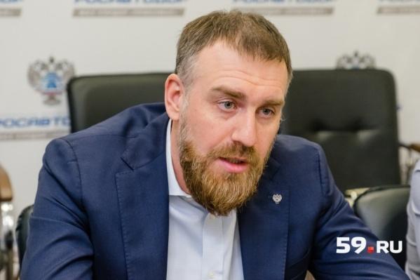 Сергей Царьков возглавляет управление федеральных дорог «Прикамье»