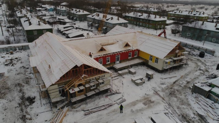 Строители детского сада в Турдеевске вошли в график работ