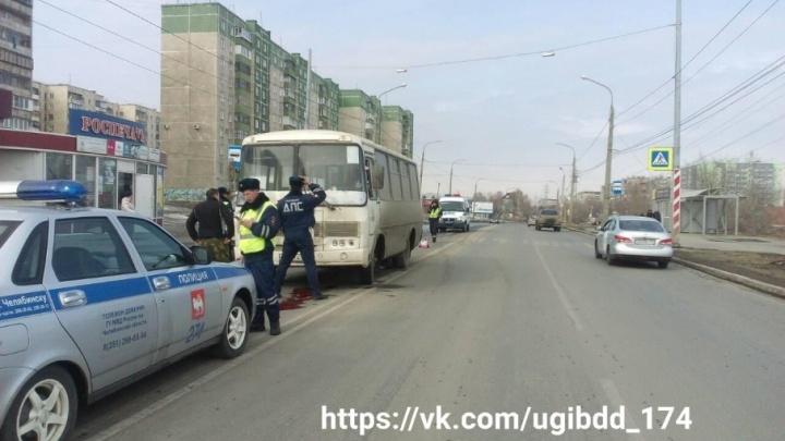 Трагедия с маршруткой: в Челябинске ПАЗ насмерть сбил девушку