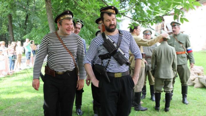 В Ярославле повторили белогвардейский мятеж